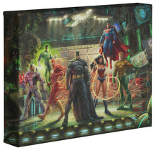 Load image into Gallery viewer, The Justice League - Gallery Wrapped Canvas - ArtOfEntertainment.com