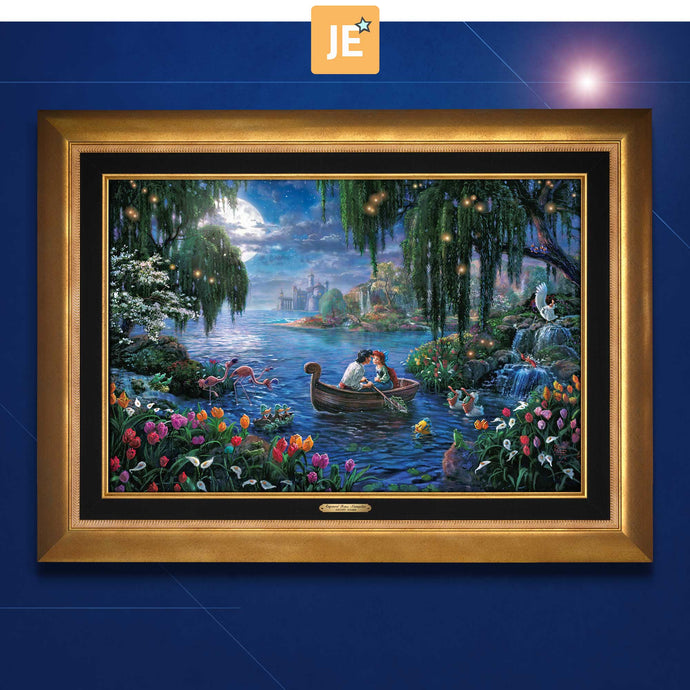 The Little Mermaid II - Limited Edition Canvas (JE - Jewel Edition) - ArtOfEntertainment.com