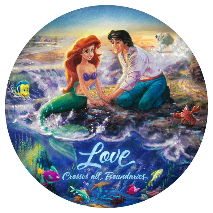 The Little Mermaid - Wood Signs - ArtOfEntertainment.com