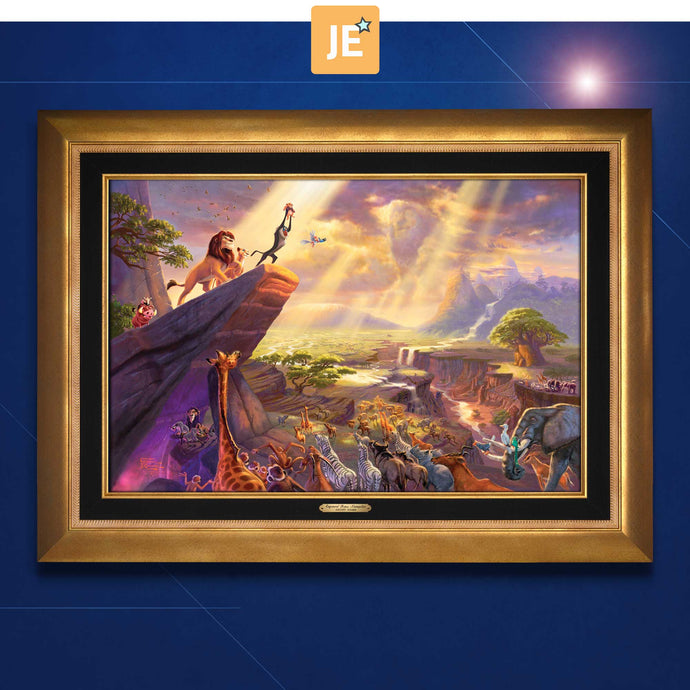 The Lion King - Limited Edition Canvas (JE - Jewel Edition) - ArtOfEntertainment.com