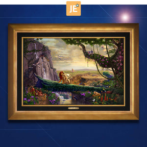 Disney Lion King - Return to Pride Rock - Limited Edition Canvas (JE - Jewel Edition) - ArtOfEntertainment.com