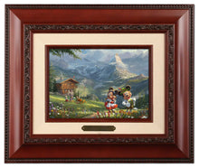 Load image into Gallery viewer, Mickey and Minnie in the Alps - Brushworks