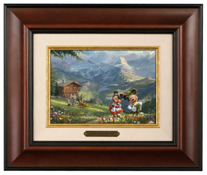 Mickey and Minnie in the Alps - Brushworks