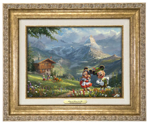Mickey and Minnie in the Alps - Canvas Classics
