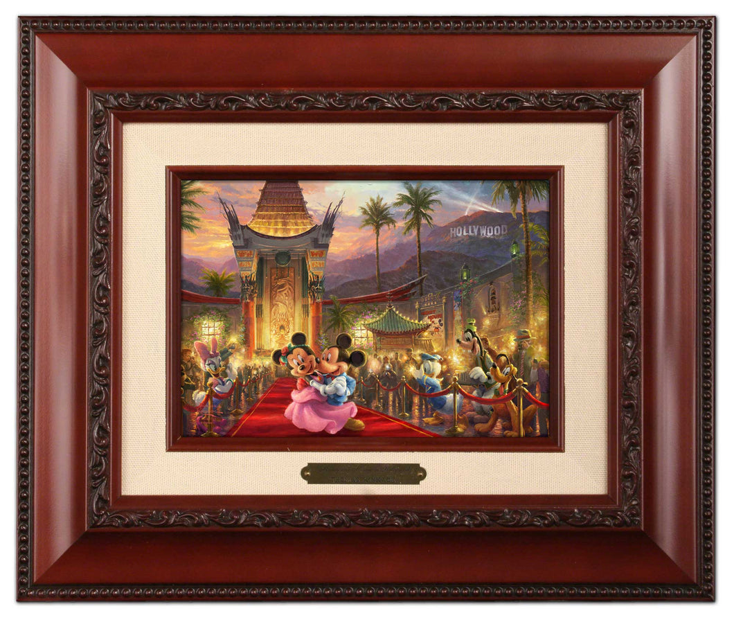 Mickey and Minnie in Hollywood - Brushworks