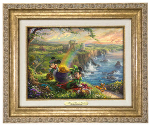 Mickey and Minnie in Ireland - Canvas Classics