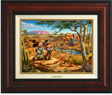 Load image into Gallery viewer, Mickey And Minnie In The Outback - Canvas Classics