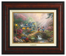 Load image into Gallery viewer, Mickey & Minnie Sweetheart Bridge - Canvas Classics