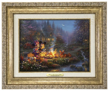 Load image into Gallery viewer, Mickey and Minnie - Sweetheart Campfire - Canvas Classics