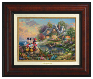 Mickey & Minnie Sweetheart Cove - Canvas Classics