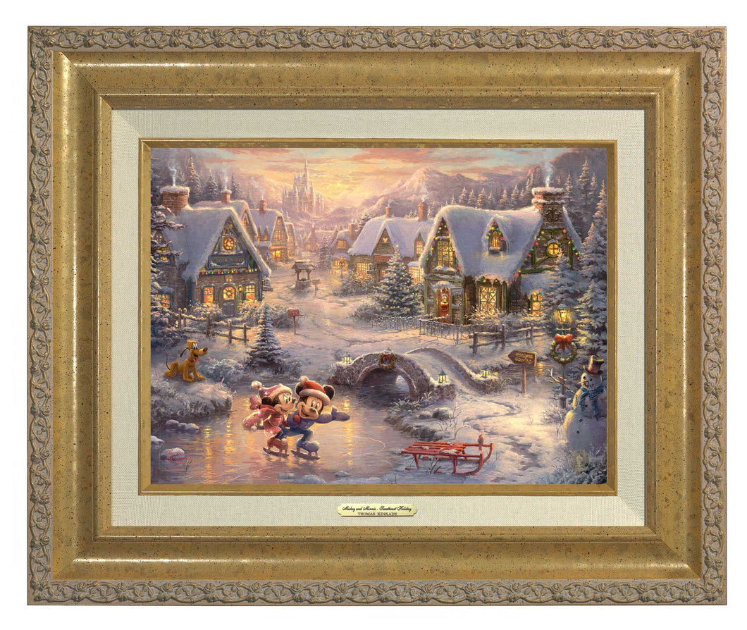 Disney Mickey and Minnie - Sweetheart Holiday - Canvas Classics