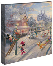 Load image into Gallery viewer, Mickey's Victorian Christmas - Gallery Wrapped Canvas - ArtOfEntertainment.com