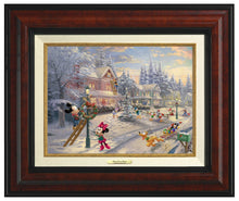 Load image into Gallery viewer, Mickey's Victorian Christmas - Canvas Classics