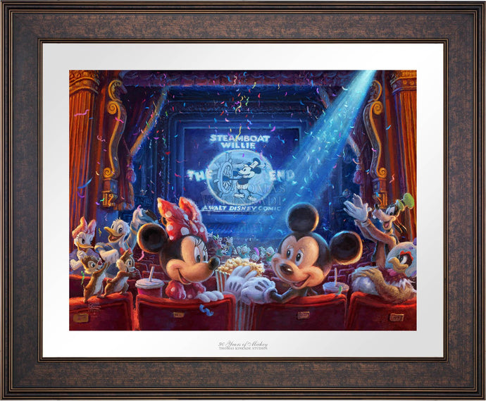 90 Years of Mickey - Limited Edition Paper (SN - Standard Numbered) - ArtOfEntertainment.com