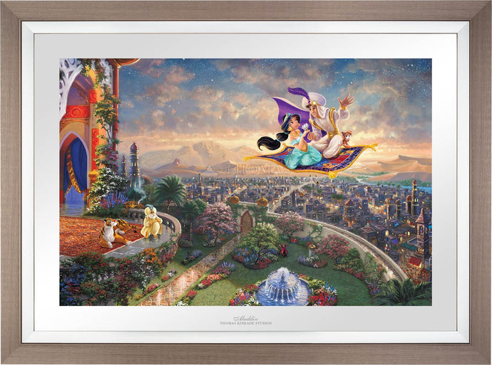 Aladdin - Limited Edition Paper (SN - Standard Numbered) - ArtOfEntertainment.com