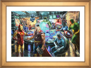 The Avengers - Limited Edition Paper (SN - Standard Numbered) - ArtOfEntertainment.com