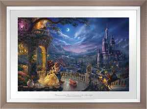 Beauty and the Beast Dancing in the Moonlight - Limited Edition Paper (SN - Standard Numbered) - ArtOfEntertainment.com