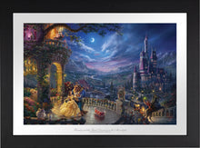 Load image into Gallery viewer, Beauty and the Beast Dancing in the Moonlight - Limited Edition Paper (SN - Standard Numbered) - ArtOfEntertainment.com
