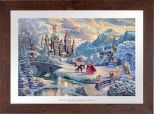 Load image into Gallery viewer, Beauty and the Beast's Winter Enchantment - Limited Edition Paper (SN - Standard Numbered) - ArtOfEntertainment.com