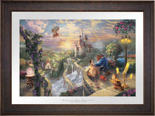 Load image into Gallery viewer, Beauty and the Beast Falling in Love - Limited Edition Paper (SN - Standard Numbered) - ArtOfEntertainment.com