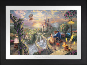 Beauty and the Beast Falling in Love - Limited Edition Paper (SN - Standard Numbered) - ArtOfEntertainment.com