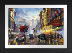 Batman, Superman, Wonder Woman - Limited Edition Paper (SN - Standard Numbered) - ArtOfEntertainment.com