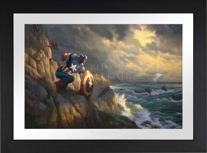 Captain America - Sentinel of Liberty - Limited Edition Paper (SN - Standard Numbered) - ArtOfEntertainment.com