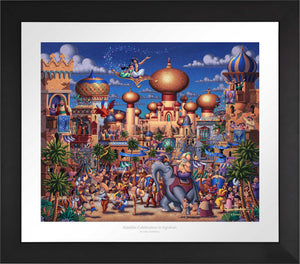 Aladdin - Celebration in Agrabah - Limited Edition Paper (SN - Standard Numbered)