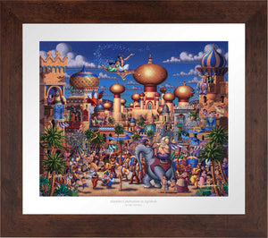Aladdin - Celebration in Agrabah - Limited Edition Paper (AP - Artist Proof)