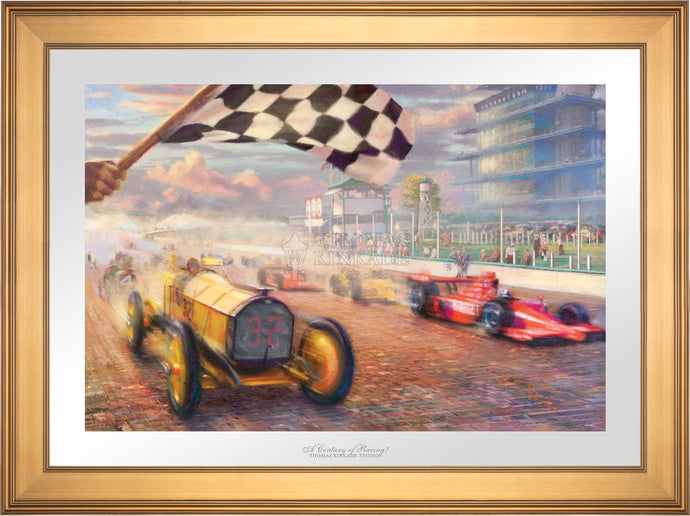 A Century of Racing! - Limited Edition Paper (SN - Standard Numbered) - ArtOfEntertainment.com