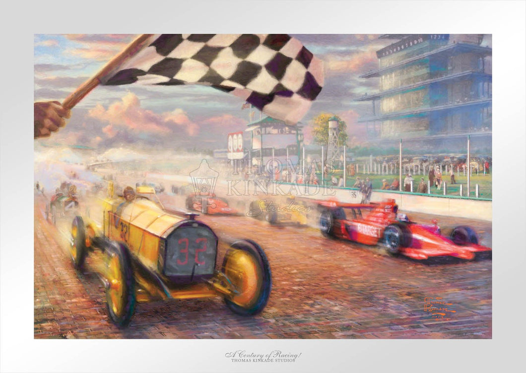 Century of Racing!, A - Limited Edition Paper - SN - (Unframed)
