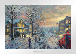 Christmas Story, A - Limited Edition Paper - SN - (Unframed)