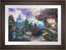 Load image into Gallery viewer, Cinderella Wishes Upon a Dream - Limited Edition Paper (SN - Standard Numbered) - ArtOfEntertainment.com