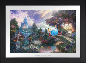 Cinderella Wishes Upon a Dream - Limited Edition Paper (SN - Standard Numbered) - ArtOfEntertainment.com