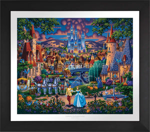 Cinderella's Enchanted Evening - Limited Edition Paper (AP - Artist Proof) - ArtOfEntertainment.com