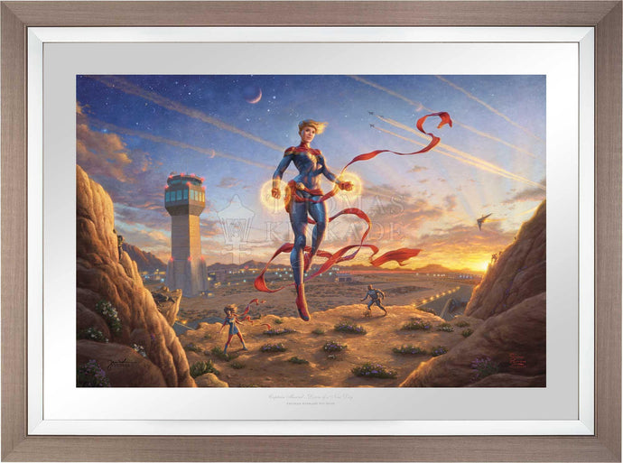 Captain Marvel - Dawn of A New Day - Limited Edition Paper (SN - Standard Numbered) - ArtOfEntertainment.com