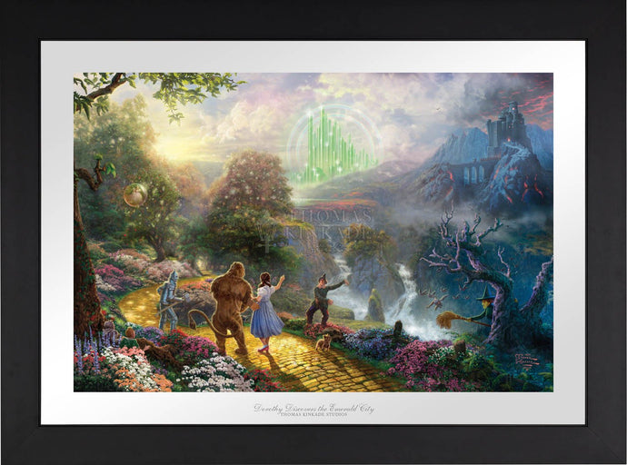Dorothy Discovers the Emerald City - Limited Edition Paper (SN - Standard Numbered) - ArtOfEntertainment.com
