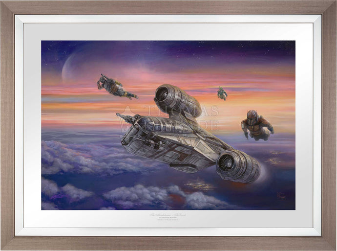 The Mandalorian - The Escort - Limited Edition Paper (SN - Standard Numbered) - ArtOfEntertainment.com