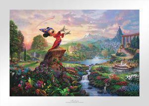 Fantasia - Limited Edition Paper - SN - (Unframed)
