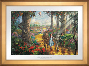 Follow The YELLOW BRICK ROAD - Limited Edition Paper (SN - Standard Numbered) - ArtOfEntertainment.com