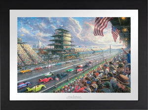 Indy Excitement® - Limited Edition Paper (SN - Standard Numbered) - ArtOfEntertainment.com