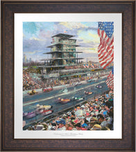 Load image into Gallery viewer, Indianapolis Motor Speedway® 100th Anniversary Study - Limited Edition Paper (SN - Standard Numbered) - ArtOfEntertainment.com