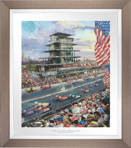 Indianapolis Motor Speedway® 100th Anniversary Study - Limited Edition Paper (SN - Standard Numbered) - ArtOfEntertainment.com