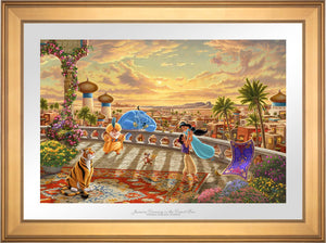 Jasmine Dancing in the Desert Sun - Limited Edition Paper (SN - Standard Numbered) - ArtOfEntertainment.com