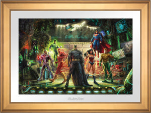 The Justice League - Limited Edition Paper (SN - Standard Numbered) - ArtOfEntertainment.com