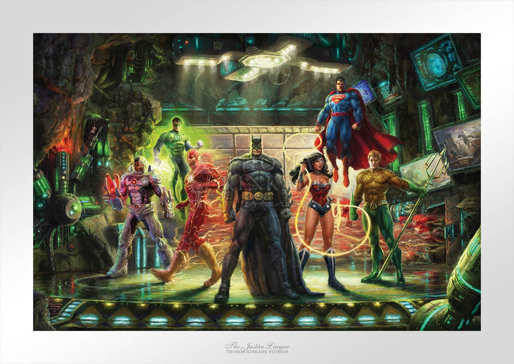 Justice League, The - Limited Edition Paper - SN - (Unframed)