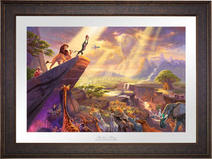 The Lion King - Limited Edition Paper (SN - Standard Numbered) - ArtOfEntertainment.com