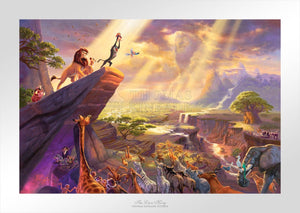 Lion King, The - Limited Edition Paper - SN - (Unframed)