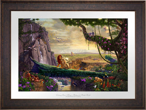 Disney Lion King - Return to Pride Rock - Limited Edition Paper (SN - Standard Numbered) - ArtOfEntertainment.com