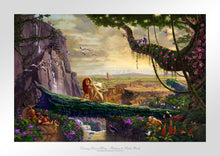 Load image into Gallery viewer, Disney Lion King - Return to Pride Rock - Limited Edition Paper - SN - (Unframed)